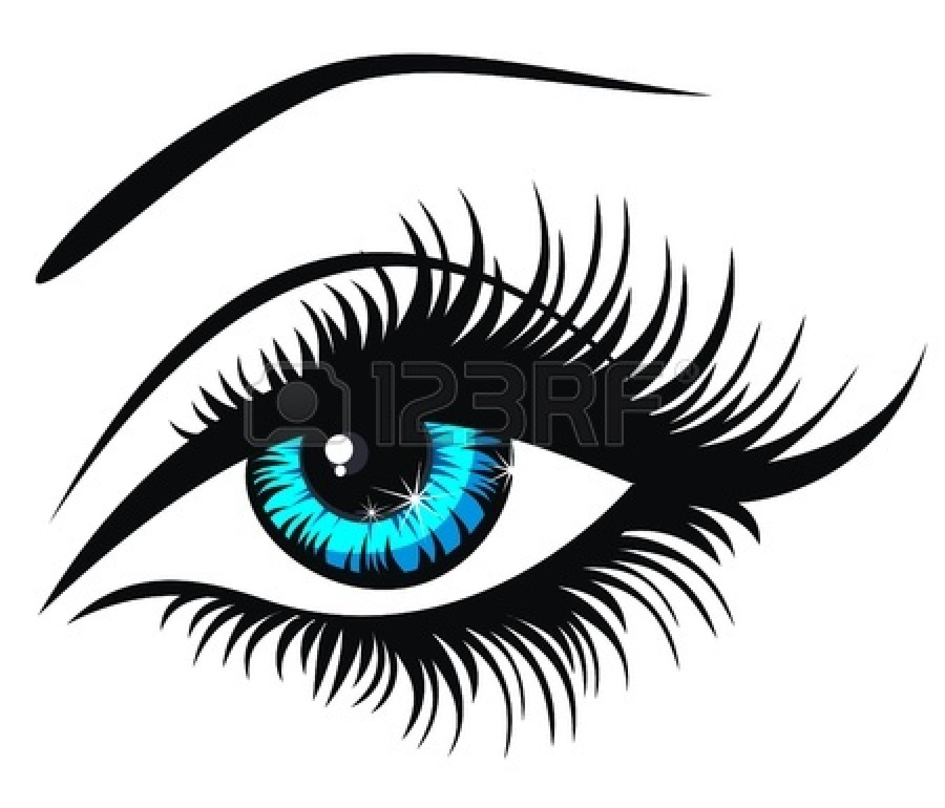 1350x1155 Clipart Images Of Eyes Free