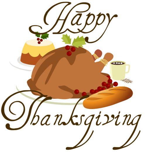 520x520 Free Happy Thanksgiving Clip Art Images 3 Image