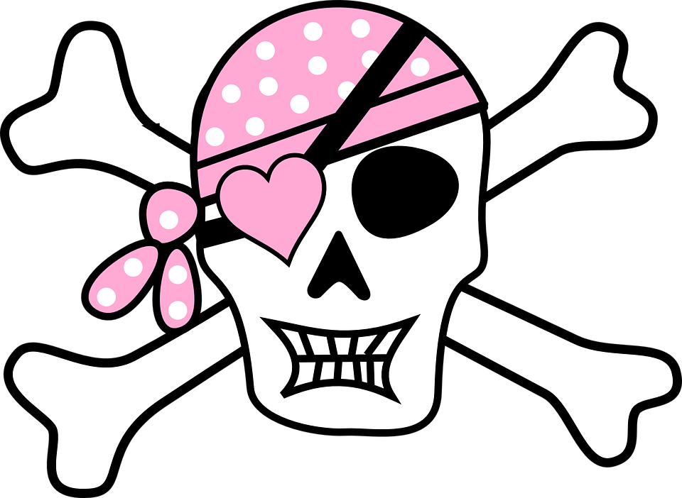 960x702 Pirate Clipart Skull And Crossbones