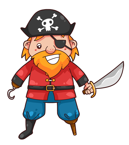 449x505 Pirate Free To Use Clipart