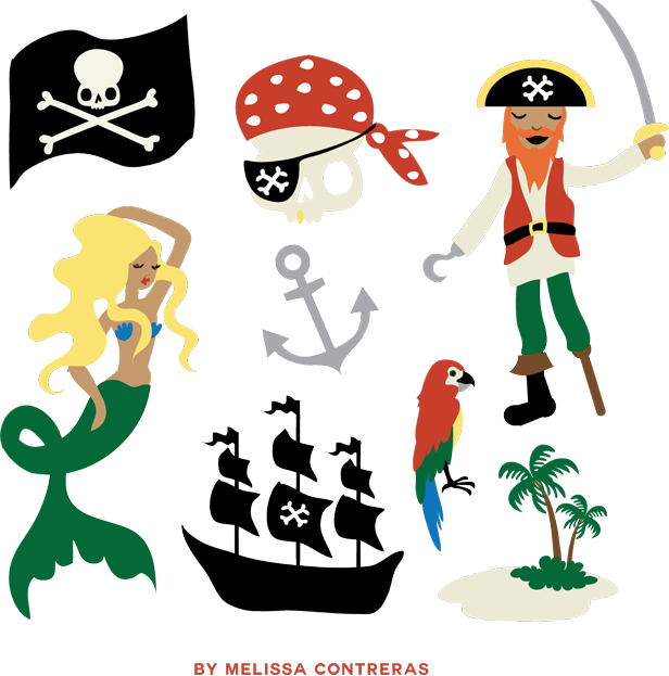 616x623 Best Pirate Clipart