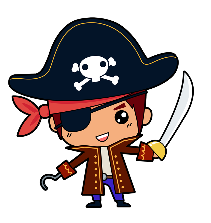 800x845 Free Cute Pirate Boy Clip Art