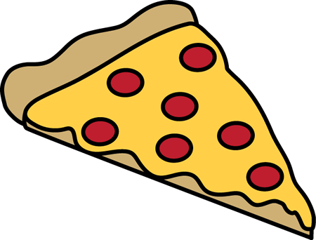 450x342 Pepperoni Pizza Slice Clip Art