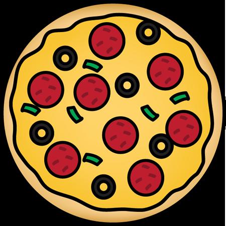 450x450 Pizza Clip Art Free Download Clipart Images 4