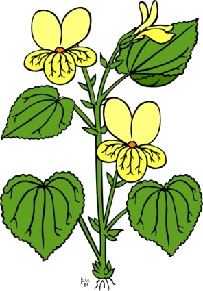 296x425 Plant Leaves Clipart