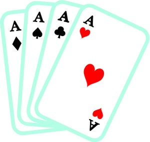 300x284 Free Poker Hand Clipart Image 0071 1002 1000 1934 Computer Clipart