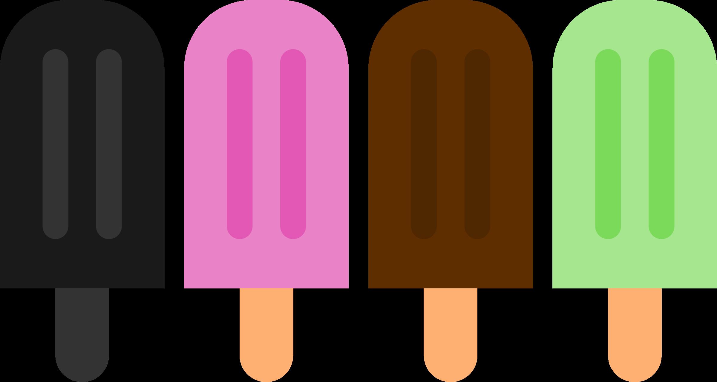 2400x1278 Popsicle Clipart Double