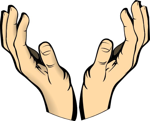 Free Praying Hands Clipart