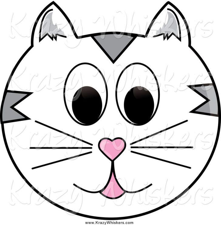 728x742 Cat Face Coloring Page Murderthestout