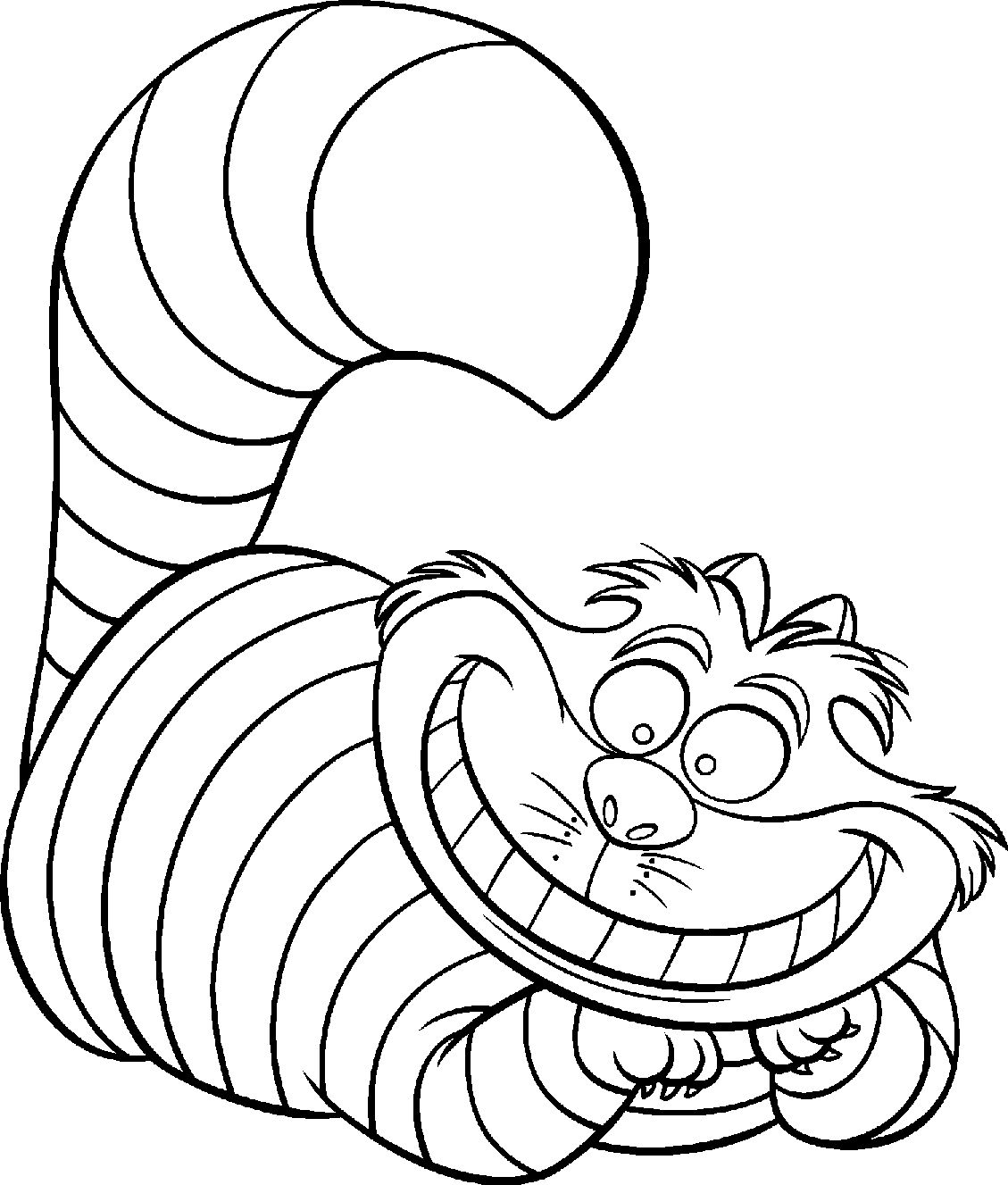 1129x1327 Alice In Wonderland Coloring Pages Free Printable Disney Alice