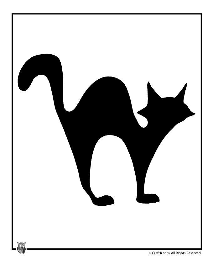 680x880 Black Cat Clipart Halloween Decoration