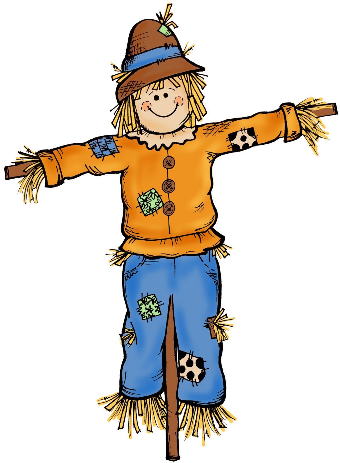 1173x1600 Best Scarecrow Clipart