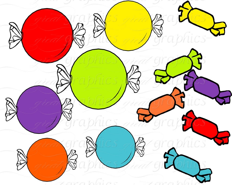 800x640 Candy Clip Art Printable Candy Digital Clip Art Lollipop Clipart