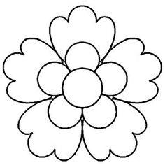 236x236 Hawaiian Flower Clip Art Black And White Clipart Panda