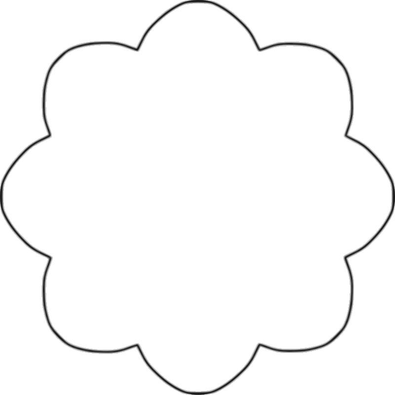 800x800 Templates Clipart Flower
