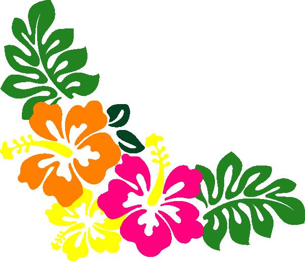 600x514 Hibiscus Clipart Border