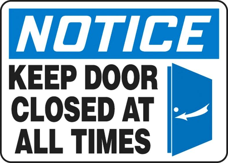 787x563 Here Are Please Keep Door Closed Sign Pictures Also Free Template