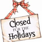 150x150 5 Best Images Of Printable Holiday Closed Signs