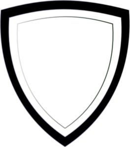 264x297 Police Badge Outline Clipart