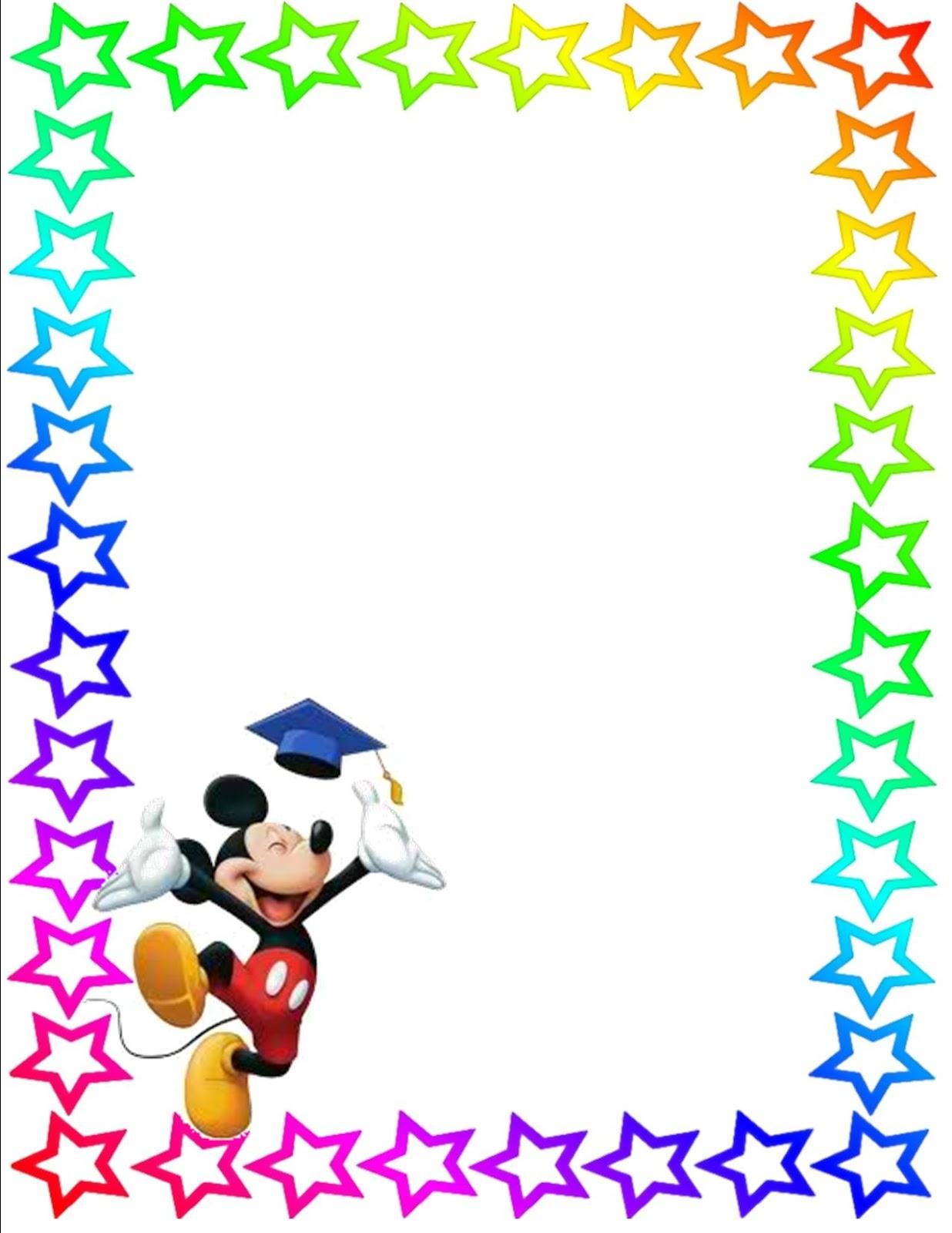 1236x1600 Disney Border Clip Art
