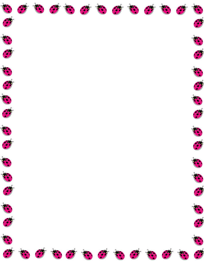 710x915 Free Printable Christmas Letter Borders Bordes Para Imprimir