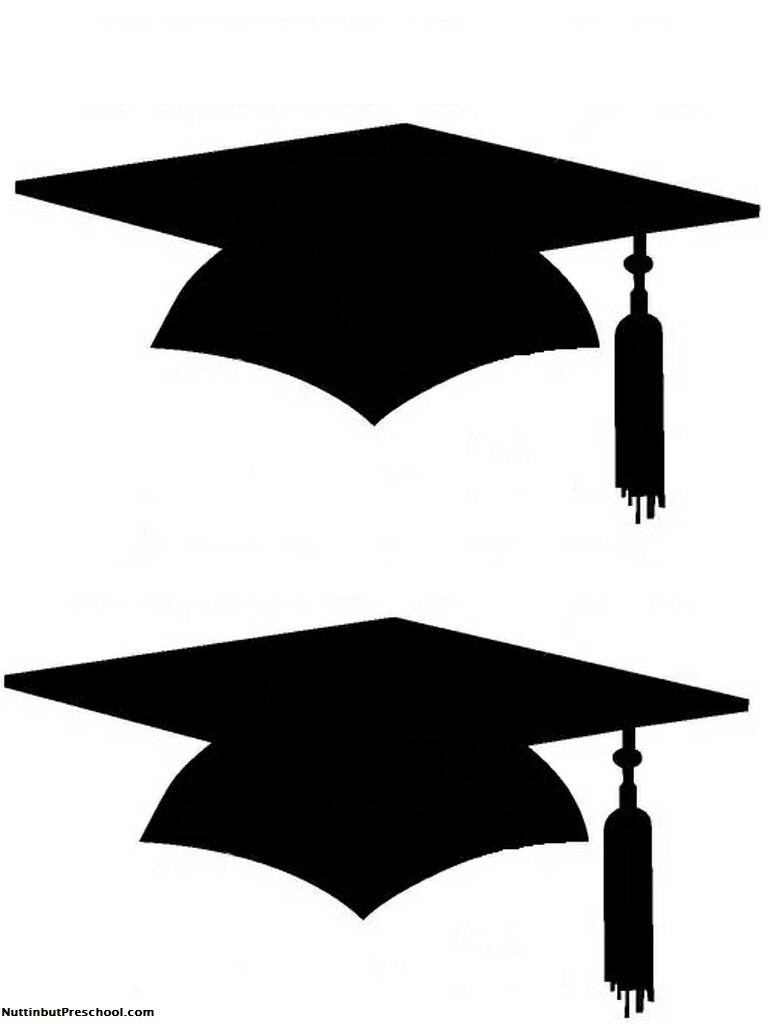 768x1024 Graduation Silhouette Clipart