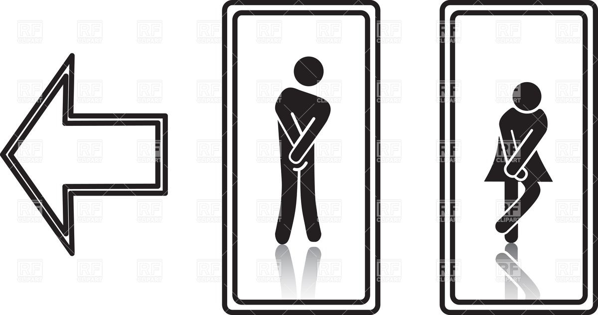 picture regarding Bathroom Signs Printable known as No cost Printable Restroom Signs and symptoms Clipart Cost-free obtain most straightforward