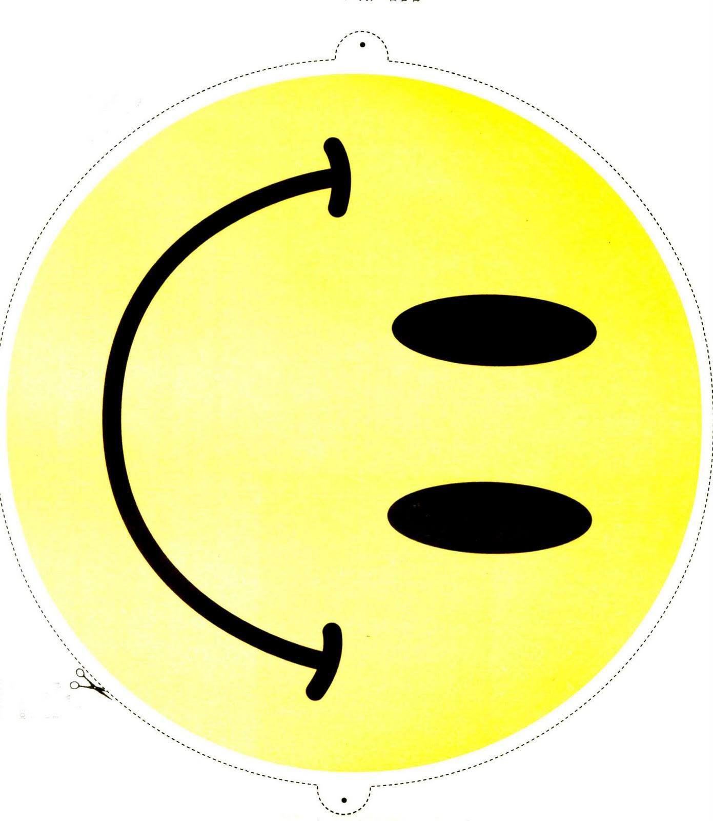 1391x1600 Free Printable Smiley Faces