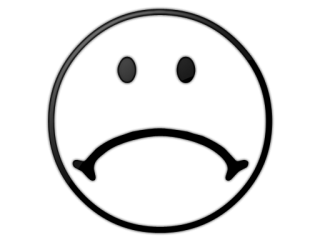 320x240 Sad Face Coloring Page Free Printable Smiley Faces Free Download