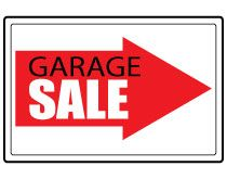 210x165 Diy Printable Awesome Garage Sale Signs Summer Survival