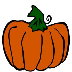 250x250 Free Pumpkin Clipart Images 3