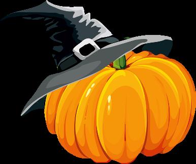 386x324 Halloween Pumpkin Clip Art Free Image 2