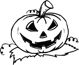 277x231 Halloween Black And White Free Halloween Pumpkins Clipart Clip Art