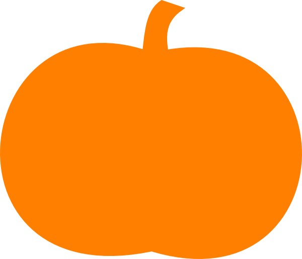 600x513 Orange Pumpkin Clip Art