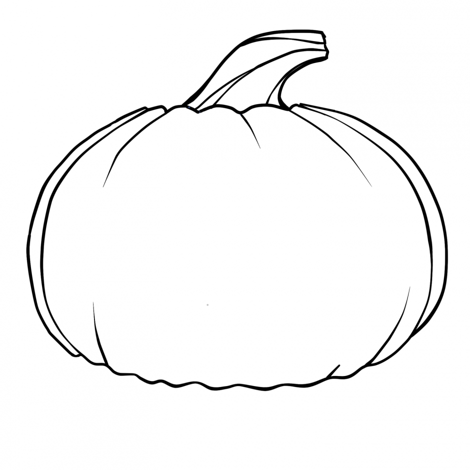 940x940 Pumpkin Black And White Pumpkin Clip Art Black And White 2