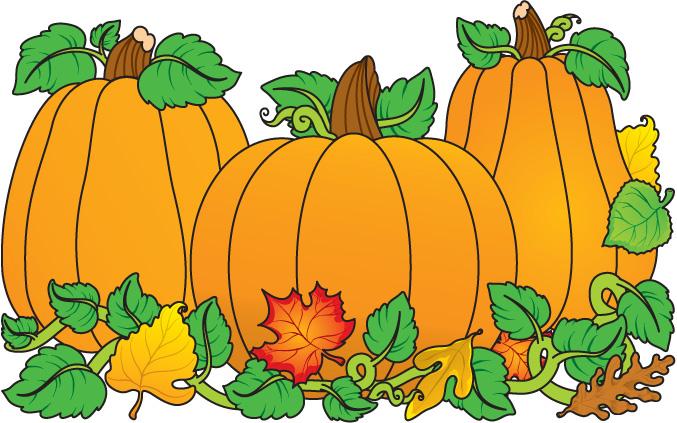 677x423 Free Clipart Pumpkins