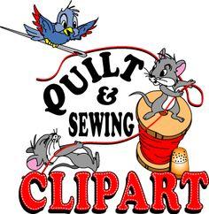 236x242 Free Quilting Clip Art