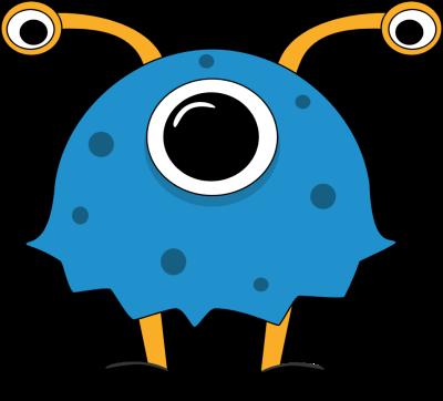 400x362 Free Cute Monster Clip Art Funny Monster Clip Art Image