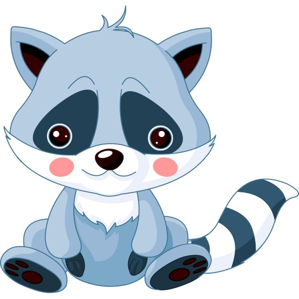 Free Raccoon Clipart