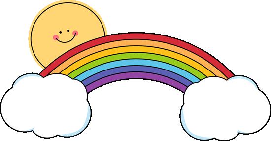 550x286 Rainbow Border Clipart