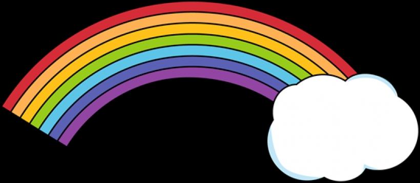 820x359 Free Rainbow Clipart Public Domain Rainbow Clip Art Images
