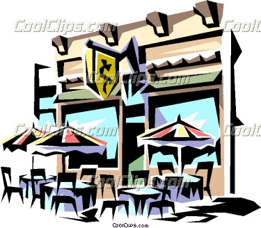 375x328 Classy Clipart Cafe