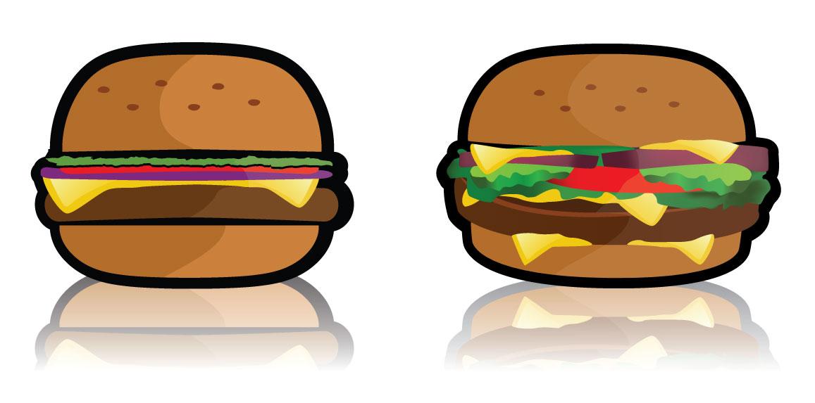 1157x573 Free Vector Hamburger