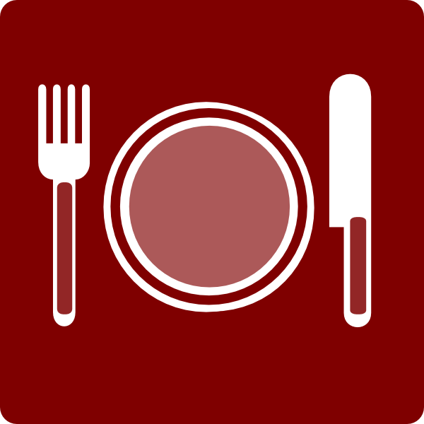 600x600 Free Restaurant Clipart