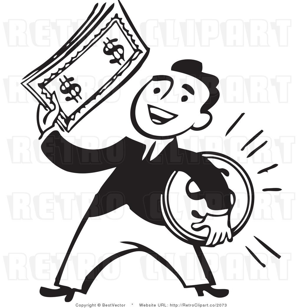 1024x1044 Money Clipart Black And White