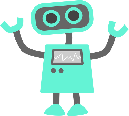 500x450 135 Robot Clipart Free Public Domain Vectors