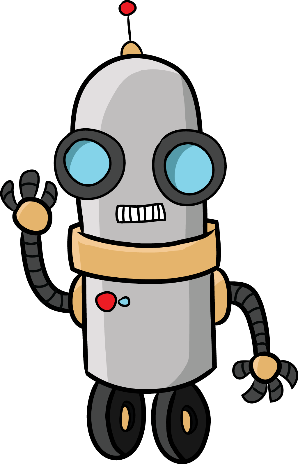 1024x1591 Free To Share Robot Clipart Free Clipartmonk