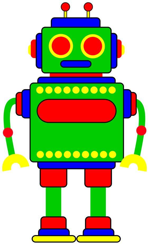 564x925 Robot Clip Art For Kids Clipart Panda