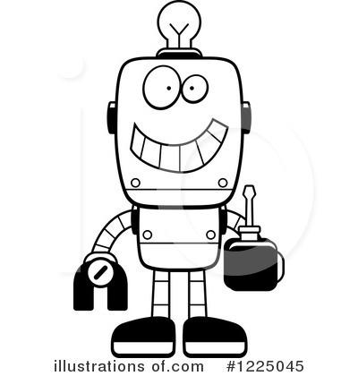 400x420 Robot Clipart