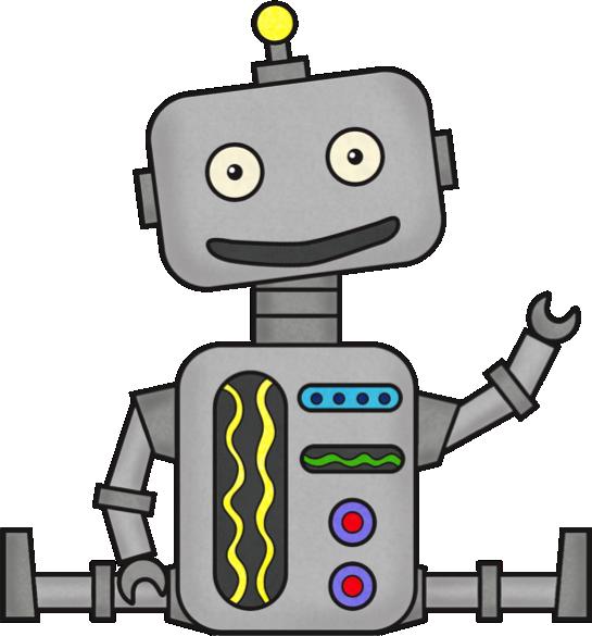 545x585 Robot Clipart